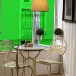 Green Colored Window Film