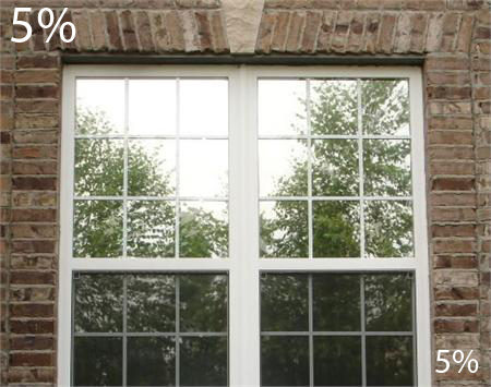 One way mirror film with nighttime vision 5 window film for 1 way window film