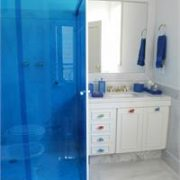 Blue Colored Window Film