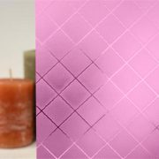 Etched Squares Pink