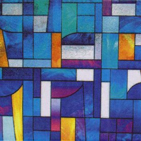 Abstract Stained Glass R05008