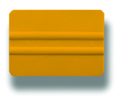 """GT087 4"""" PVC Yellow Lidco Squeegee"""