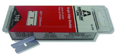 GT140 Single Edge Razor Blades (100 Pack)