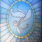 Dove Stained Glass #2