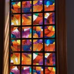 Fish Stained Glass R05007