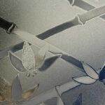 R087009 Cut Glass Bamboo Clear1