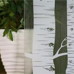 Frosted Birch Privacy R05011