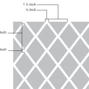 1.5in Diamonds Pattern