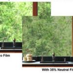 Solar Window Film Neutral Color 35% VLT