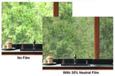 Solar Neutral 35% VLT Window Film