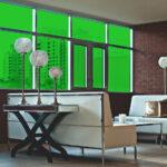 Green Colored Window Film
