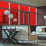 Red Colored Window Film