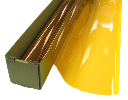 Solar Window Film >> Amber Colored Window Film SG2400 - Window Film and More