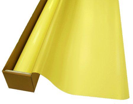 Yellow Matte Colored Film
