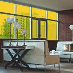 Amber Colored Window Film SG2400