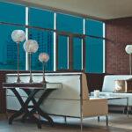 Azure Blue Colored Window Film SG5670