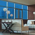Bright Blue Colored Window Film SG5820