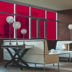 Cherry Red Colored Window Film SG3240