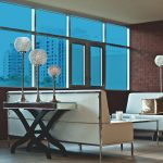 Cool Blue Colored Window Film SG5620