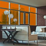 Flame Colored Window Film SG2800