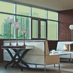 Glass Green Colored Window Film SG6280