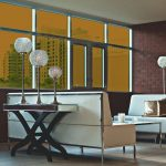 Golden Brown Colored Window Film SG7640