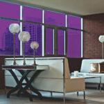 Grape Colored Window Film SG4560