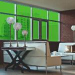 Green Grass Colored Window Film SG6620