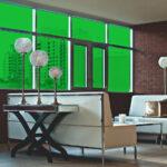 Kelley Green Colored Window Film SG6760