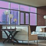 Lavender Colored Window Film SG4520