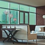 Light Cyan Colored Window Film SG5120