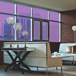 Light Purple Colored Window Film SG4540