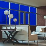 Midnight Blue Colored Window Film SG5940