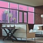 Orchid Colored Window Film SG3640
