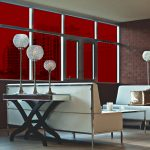 Rich Red Colored Window Film SG3260