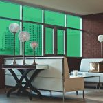 Seafoam Colored Window Film SG6860
