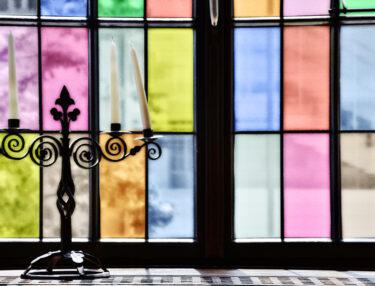 Textured Colors Decorative Window Film