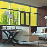 Yellow Colored Window Film
