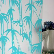 Bamboo Shoots Sandblast Aqua