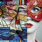 Coastal Scenes Stained Glass