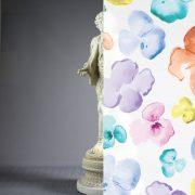 Watercolor Flowers Frost