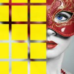 3″ Square Pattern on Sandblast <i>(24 Color Options Available)</i>