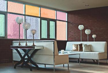 Cut Glass Bubbles Colors