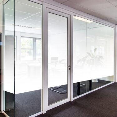 White Frost Classic Gradient Decorative Window Film