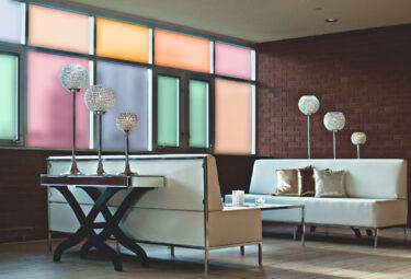 Sandblast Colors Decorative Window Film